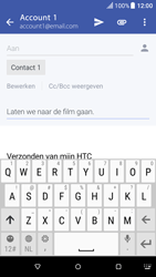 HTC One A9 - Android Nougat - E-mail - Bericht met attachment versturen - Stap 9