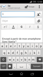 Sony Xperia E3 - E-mail - envoyer un e-mail - Étape 4