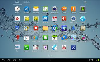 Samsung P5100 Galaxy Tab 2 10-1 - Wifi - configuration manuelle - Étape 2