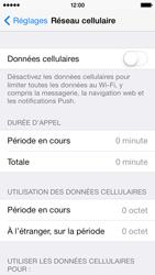 Apple iPhone 5c - Internet - Activer ou désactiver - Étape 5
