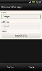 HTC T328e Desire X - Internet - Internet browsing - Step 6