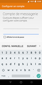 ZTE Blade V9 - E-mail - Configuration manuelle (outlook) - Étape 11