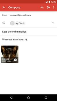 Motorola Nexus 6 - Email - Sending an email message - Step 14