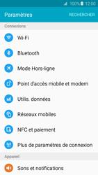 Samsung G920F Galaxy S6 - Réseau - Changer mode réseau - Étape 4
