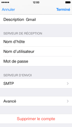 Apple iPhone 5c - E-mail - Configuration manuelle - Étape 21