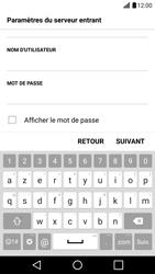 LG LG G5 - E-mail - Configuration manuelle - Étape 12