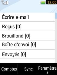 LG T385 - E-mails - Ajouter ou modifier un compte e-mail - Étape 12