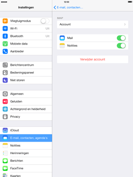 Apple iPad 4th generation iOS 7 - E-mail - e-mail instellen: IMAP (aanbevolen) - Stap 26