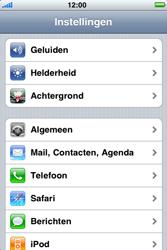 Apple iPhone 3G - E-mail - Handmatig instellen - Stap 4