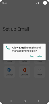 Samsung Galaxy S10 - E-mail - Manual configuration (outlook) - Step 12