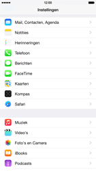 Apple iPhone 6 iOS 8 - E-mail - e-mail instellen (outlook) - Stap 3