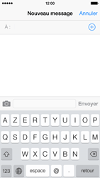 Apple iPhone 5s - Contact, Appels, SMS/MMS - Envoyer un SMS - Étape 4