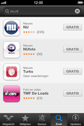 Apple iPhone 4 (iOS 6) - apps - app store gebruiken - stap 7