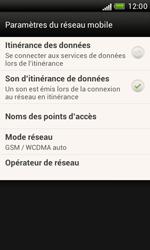 HTC T328e Desire X - Internet - Configuration manuelle - Étape 6