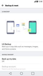 LG K10 2017 - Device maintenance - Create a backup of your data - Step 5