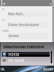 Nokia E75 - E-mail - Envoi d