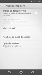 Sony Xperia Z3 - Internet - Activar o desactivar la conexión de datos - Paso 8