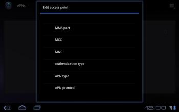 Huawei Mediapad S7-301u - Internet - Manual configuration - Step 9