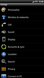 HTC Z710e Sensation - Mms - Manual configuration - Step 4