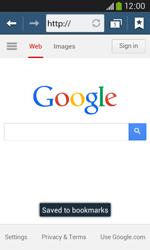 Samsung Galaxy Core Plus - Internet - Internet browsing - Step 8