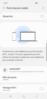 Samsung Galaxy S10 Plus - Internet - comment configurer un point d'accès mobile - Étape 12