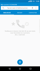 BlackBerry Priv (STV100-4) - Voicemail - Handmatig instellen - Stap 4