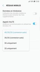 Samsung G925F Galaxy S6 Edge - Android Nougat - Réseau - Changer mode réseau - Étape 7