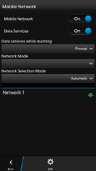 BlackBerry Z30 - Network - Usage across the border - Step 6