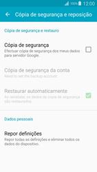 Samsung Galaxy S4 LTE - Repor definições - Como repor definições de fábrica do telemóvel -  7