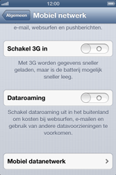 Apple iPhone 4 met iOS 6 - Internet - handmatig instellen - Stap 6