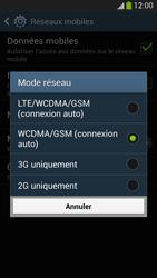 Samsung Galaxy S4 - Internet et connexion - Activer la 4G - Étape 7