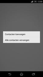 Sony Xperia Z3 4G (D6603) - Contacten en data - Contacten kopiëren van toestel naar SIM - Stap 9