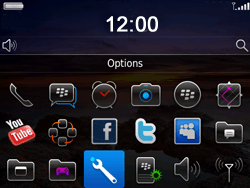 BlackBerry 9780 Bold - Paramètres - reçus par SMS - Étape 3