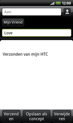 HTC A7272 Desire Z - E-mail - hoe te versturen - Stap 6