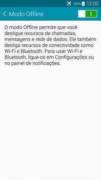 Samsung N910F Galaxy Note 4 - Rede móvel - Como ativar e desativar o modo avião no seu aparelho - Etapa 6