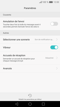 Huawei Mate 8 - SMS - Configuration manuelle - Étape 6
