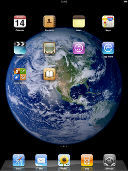Apple iPad 2 - Internet - Automatic configuration - Step 1