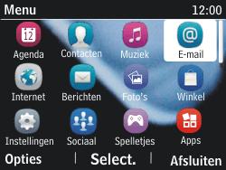 Nokia Asha 201 - E-mail - e-mail versturen - Stap 2