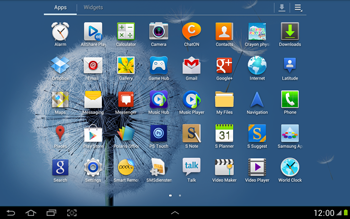 Samsung N8000 Galaxy Note 10-1 - Network - Usage across the border - Step 3