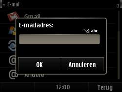 Nokia E6-00 - E-mail - Handmatig instellen - Stap 7
