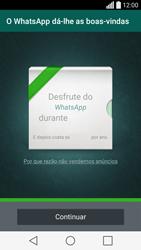 LG C70 / SPIRIT - Aplicações - Como configurar o WhatsApp -  11