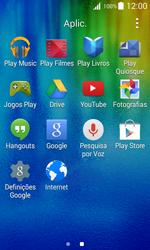 Samsung Galaxy J1 - Aplicações - Como pesquisar e instalar aplicações -  3