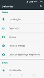 Wiko Fever 4G - Segurança - Como ativar o código de bloqueio do ecrã -  3
