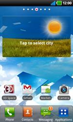 LG P920 Optimus 3D Speed - Internet - Automatic configuration - Step 3
