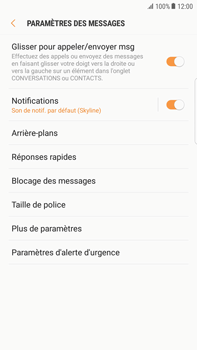 Samsung Galaxy S6 Edge+ - Android Nougat - SMS - configuration manuelle - Étape 6