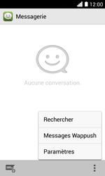 Huawei Ascend Y330 - SMS - Configuration manuelle - Étape 4