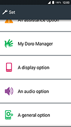 Doro 8035 - Network - Usage across the border - Step 4