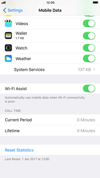 Apple iPhone 6 Plus - iOS 11 - Internet - Disable WiFi Assist - Step 5