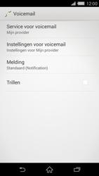 Sony D6503 Xperia Z2 - Voicemail - handmatig instellen - Stap 6