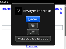 BlackBerry 9300 Curve 3G - Internet - Navigation sur Internet - Étape 13